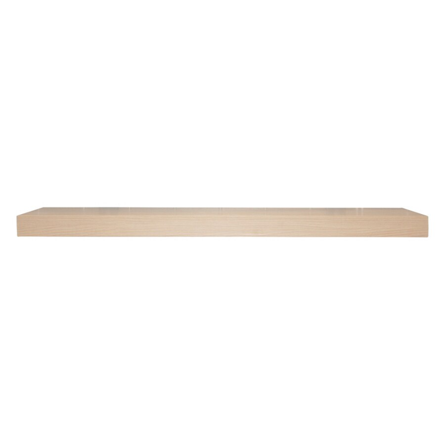 allen + roth 35.4-in Wood Wall Mounted Shelving