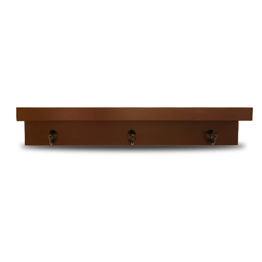 allen + roth 30-in Wood Wall Mounted Shelving