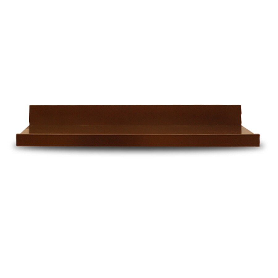 allen + roth 42-in Wood Wall Mounted Shelving