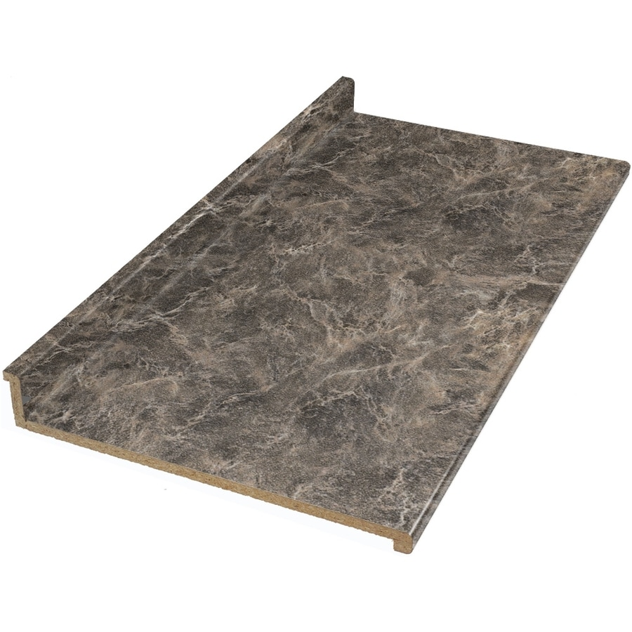 shop vti fine laminate countertops wilsonart 12 ft bronzed fusion textured gloss straight. Black Bedroom Furniture Sets. Home Design Ideas