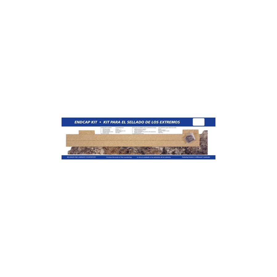 BELANGER Fine Laminate Countertops 25.625-in Antique Mascarello FX Radiance Laminate Kitchen End Cap