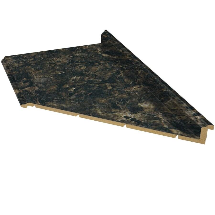 Shop Belanger Fine Laminate Countertops Formica 6 Ft Labrador Granite Etchings Miter Laminate