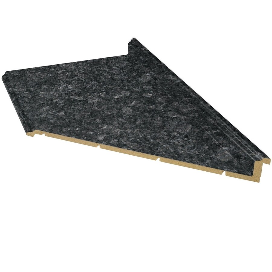 VT Dimensions Formica 10-ft Midnight Stone Etchings Miter Laminate Kitchen Countertop