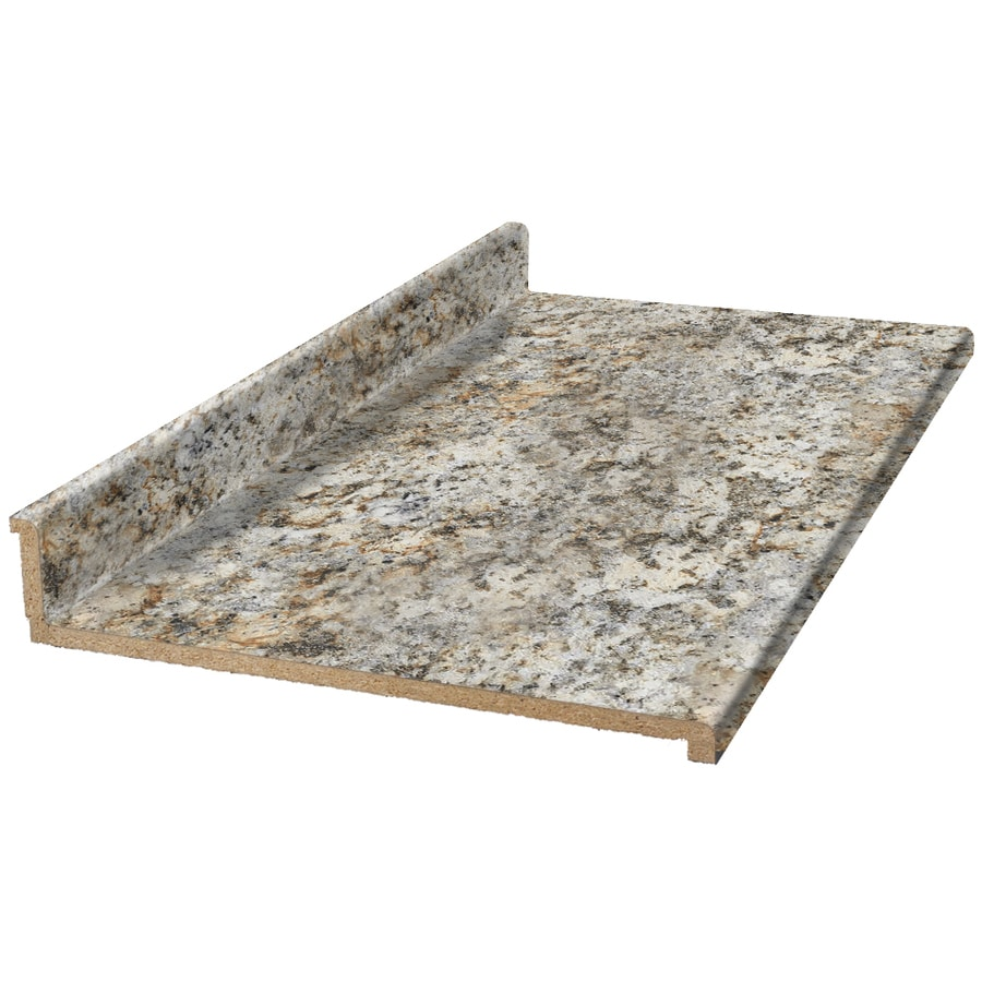 VT Dimensions Formica 6-ft Geriba Gold Granite Etchings Straight Laminate Kitchen Countertop