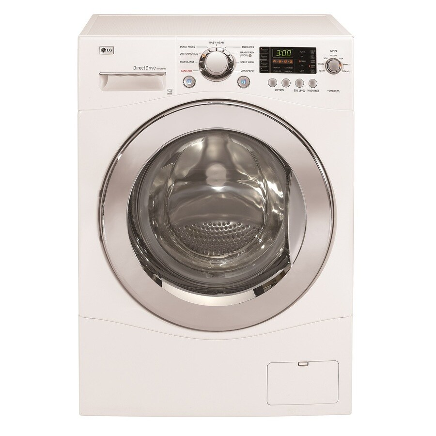 LG 2.3-cu ft High-Efficiency Front-Load Washer (White) ENERGY STAR
