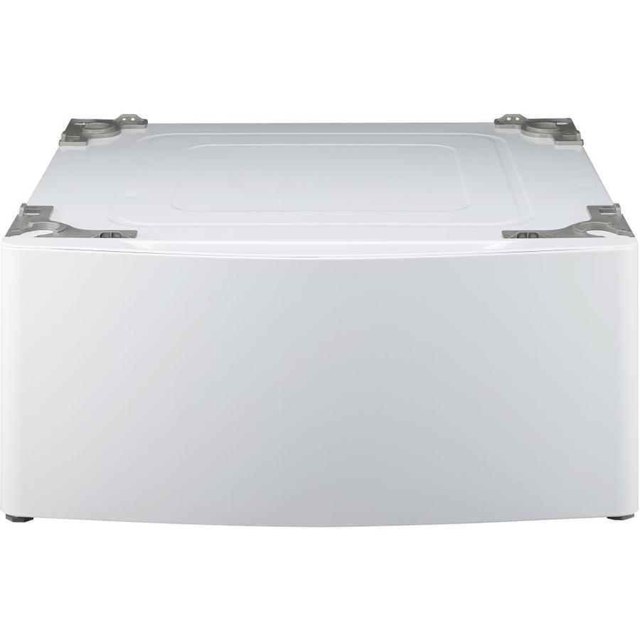 LG 13.6-in x 27-in Dryer Pedestal with Storage Drawer