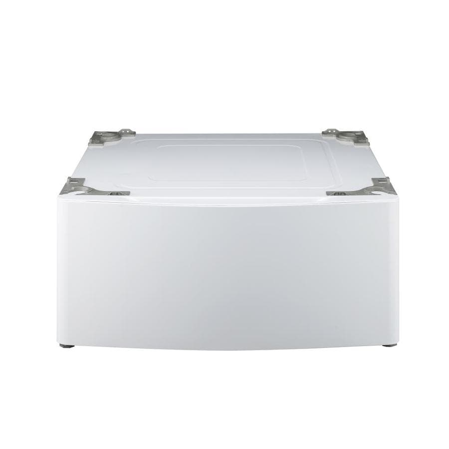 LG 13.6-in x 29-in White Laundry Pedestal with Storage Drawer