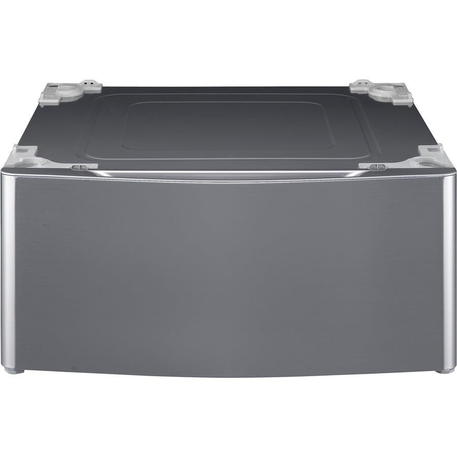 LG 13.6-in x 29-in Graphite Steel Laundry Pedestal with Storage Drawer