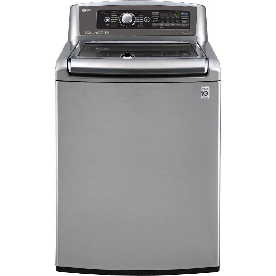 Shop Lg 5 Cu Ft High Efficiency Top Load Washer Graphite