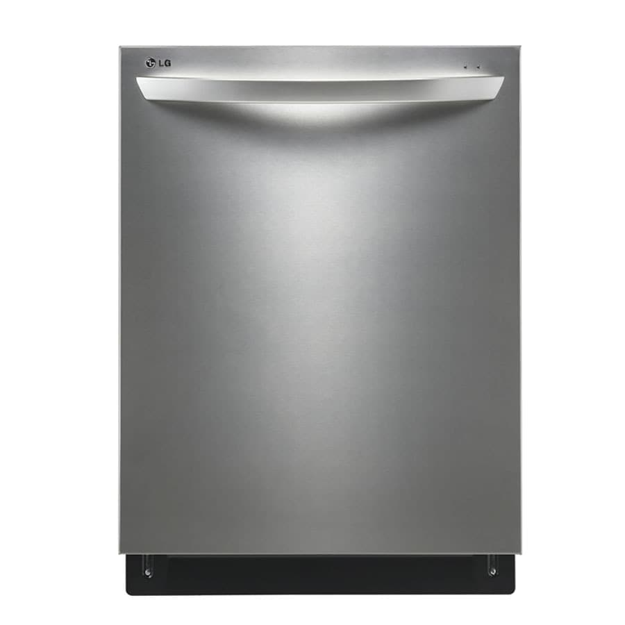 LG 44-Decibel Built-in Dishwasher (Stainless Steel) (Common: 24-in; Actual: 23.75-in)