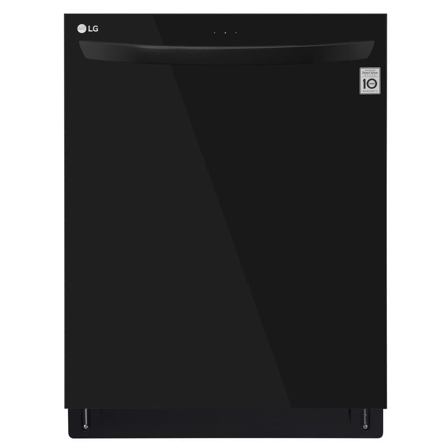 LG 46-Decibel Built-in Dishwasher (Black) (Common: 24-in; Actual: 23.75-in) ENERGY STAR