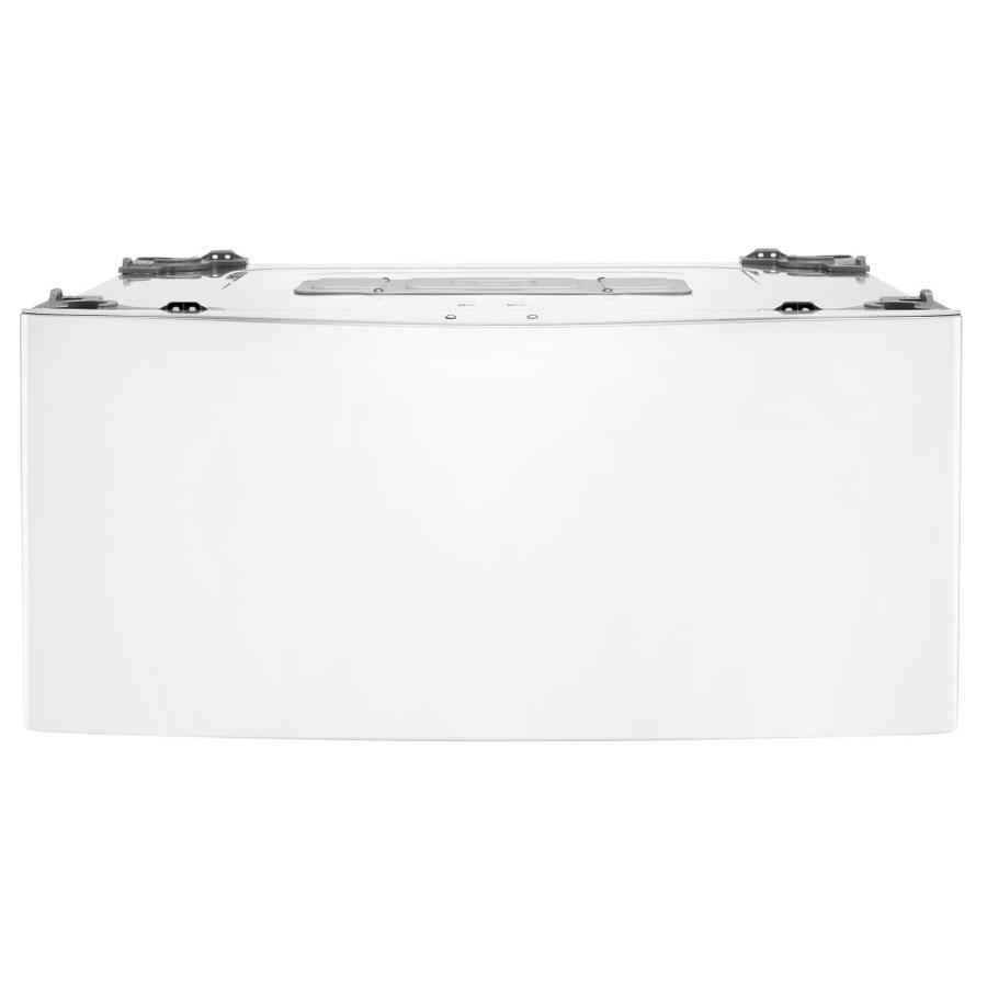 LG Sidekick 1-cu ft 27-in Pedestal Washer (White)