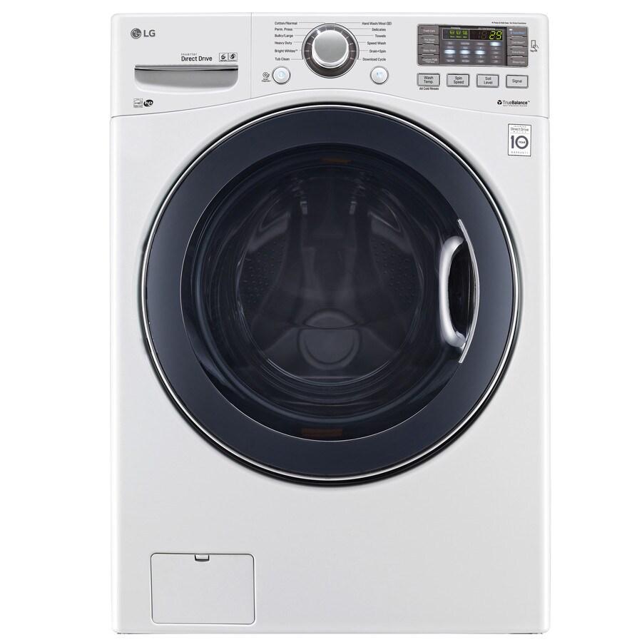 Shop Lg Twinwash Compatible 4 5 Cu Ft High Efficiency