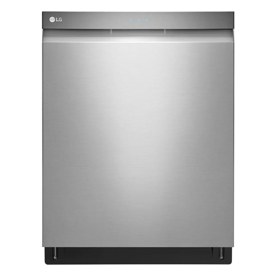 LG 44-Decibel Built-in Dishwasher (Stainless Steel) (Common: 24-in; Actual: 23.75-in) ENERGY STAR