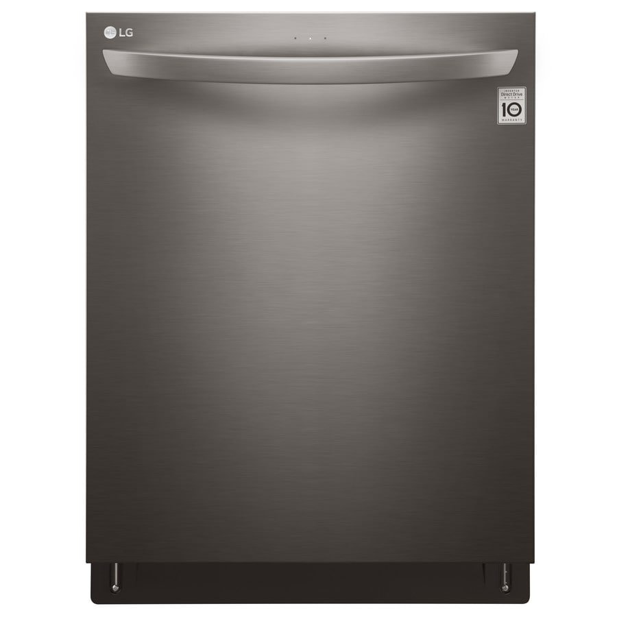LG 46-Decibel Built-in Dishwasher (Black Stainless Steel) (Common: 24-in; Actual: 23.75-in) ENERGY STAR