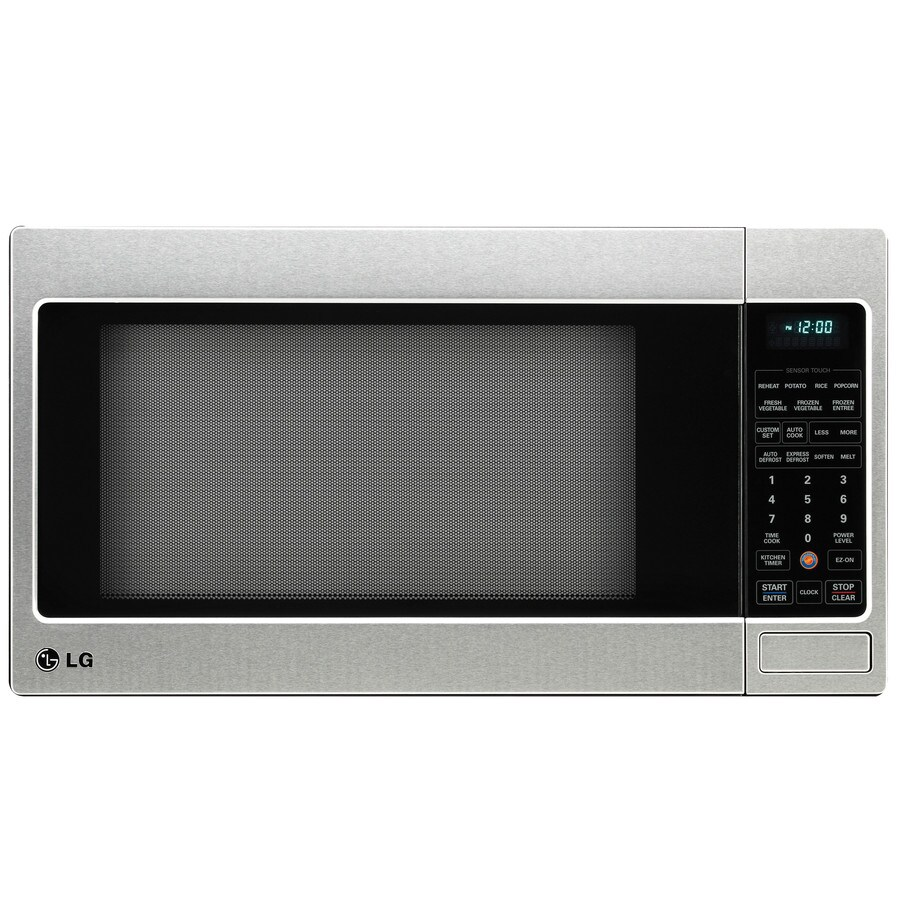 Countertop Microwave Lg : Shop LG 2-cu ft 1,200-Watt Countertop Microwave (Stainless Steel) at ...