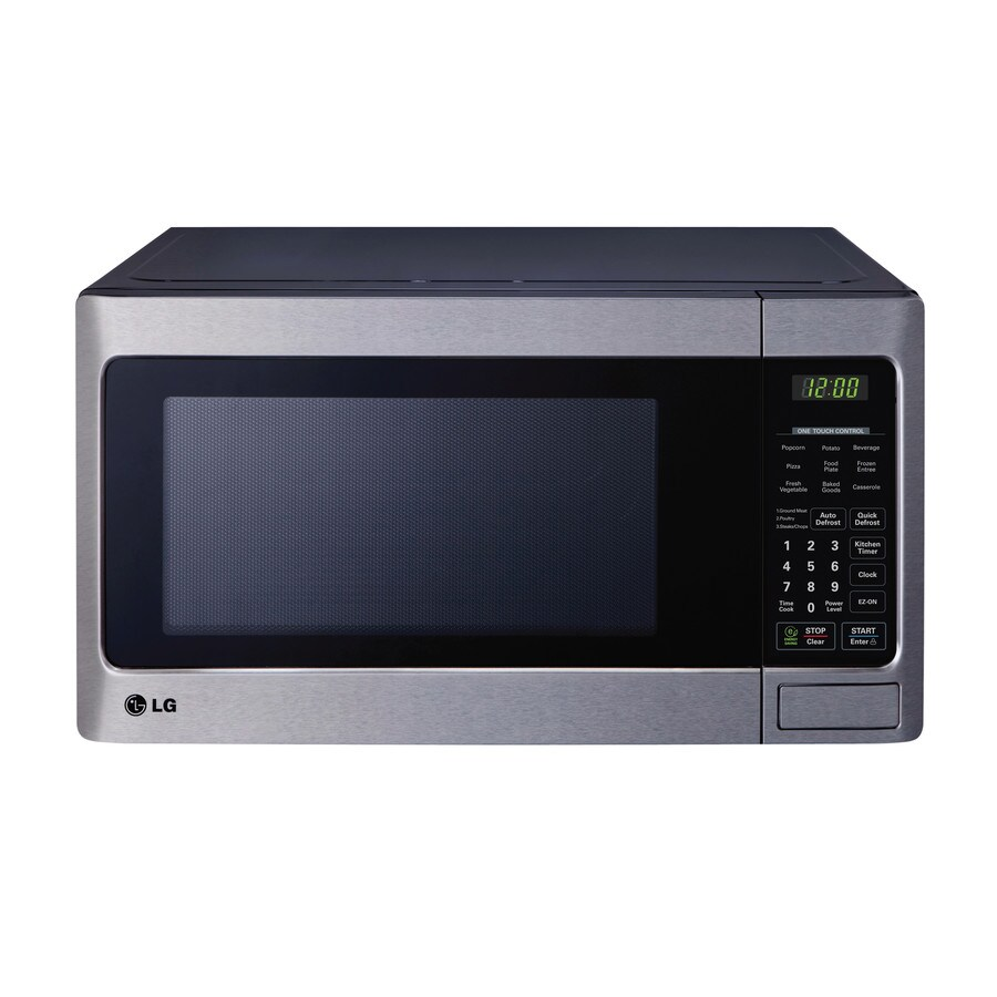LG 1.1-cu ft 1,000-Watt Countertop Microwave (Stainless Steel)