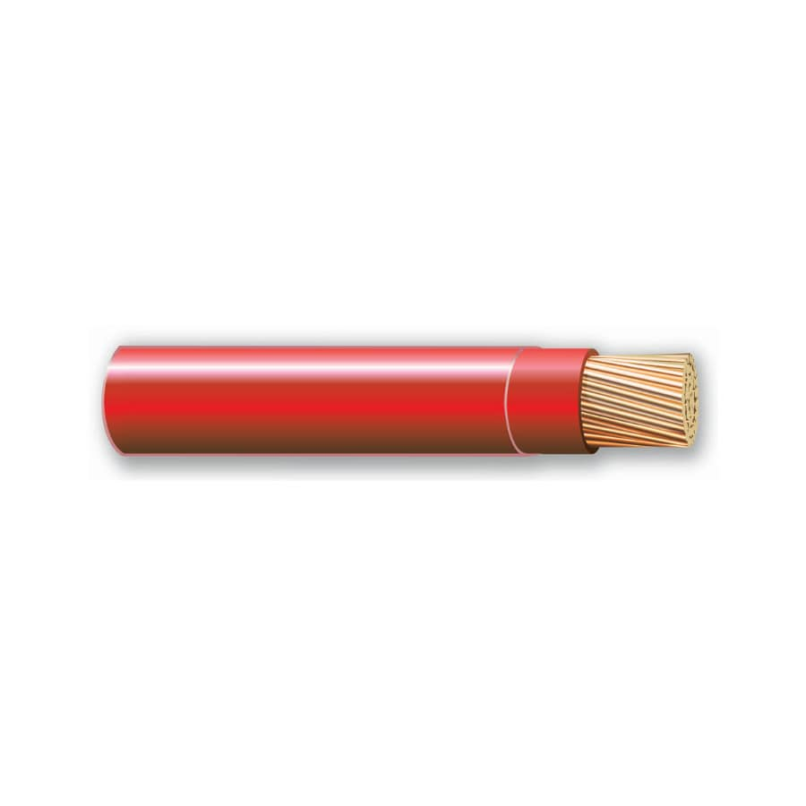 500-ft 10-AWG Stranded Red THHN Wire (By-the-Roll)