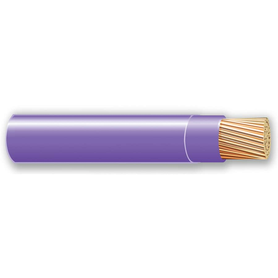 500-ft 10-AWG Stranded Purple THHN Wire (By-the-Roll)