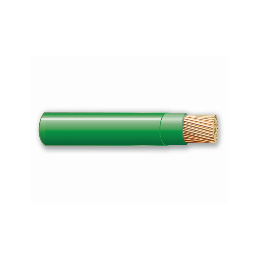 500-ft 14-AWG Stranded Green THHN Wire (By-the-Roll)