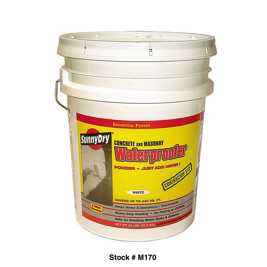 Sunny Dry 60 Lb. Powder Waterproofer, White