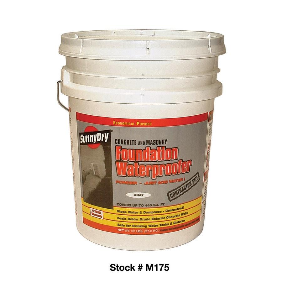Sunny Dry 60 Lb. Gray Powder Waterproofer