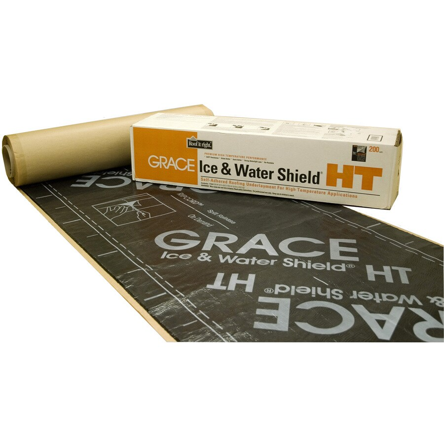 Grace Construction Products 36-in x 66.6-ft 200-sq ft Rubber Roof Underlayment