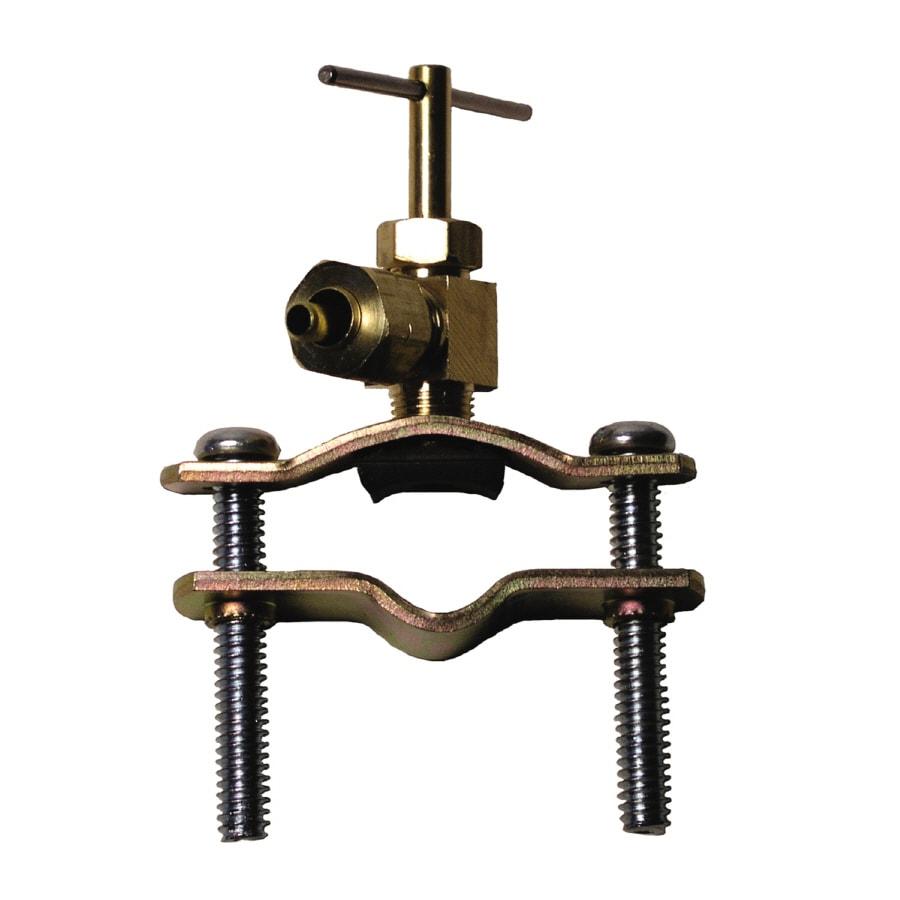 Watts 1/4-in Brass Compression In-Line Straight Valve
