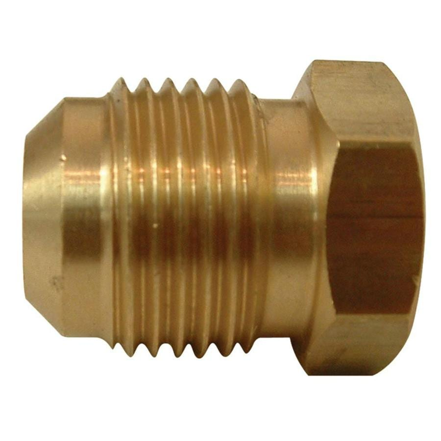 Watts 1/4-in Plug Flare Fitting