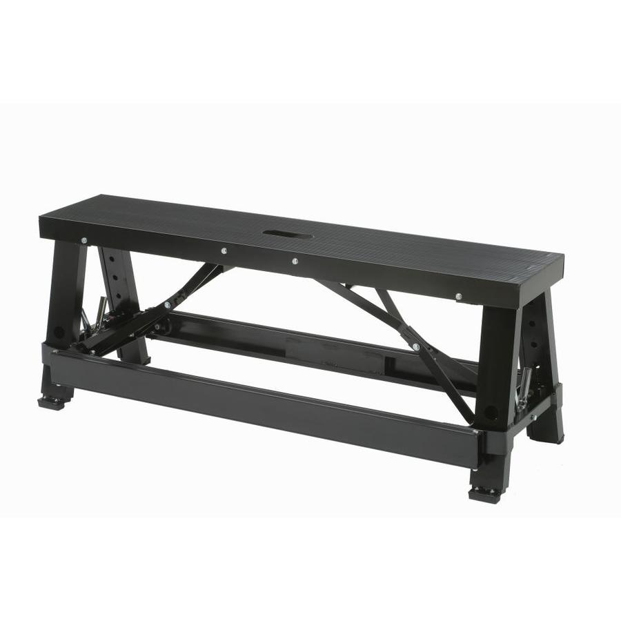 Shop warner 28 in adjustable aluminum drywall bench at Aluminum benches