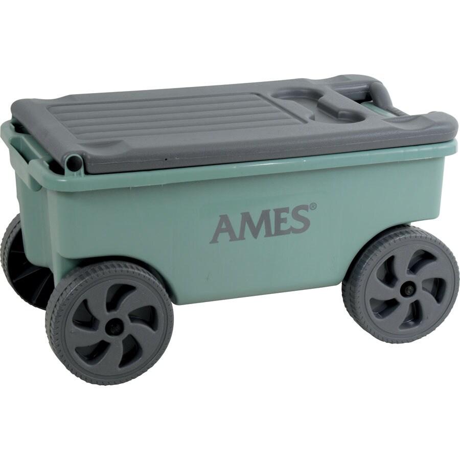 Ames 0.75-cu ft Poly Yard Cart
