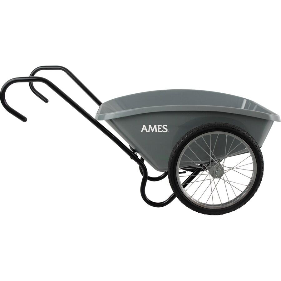 Ames 5-cu ft Poly Yard Cart
