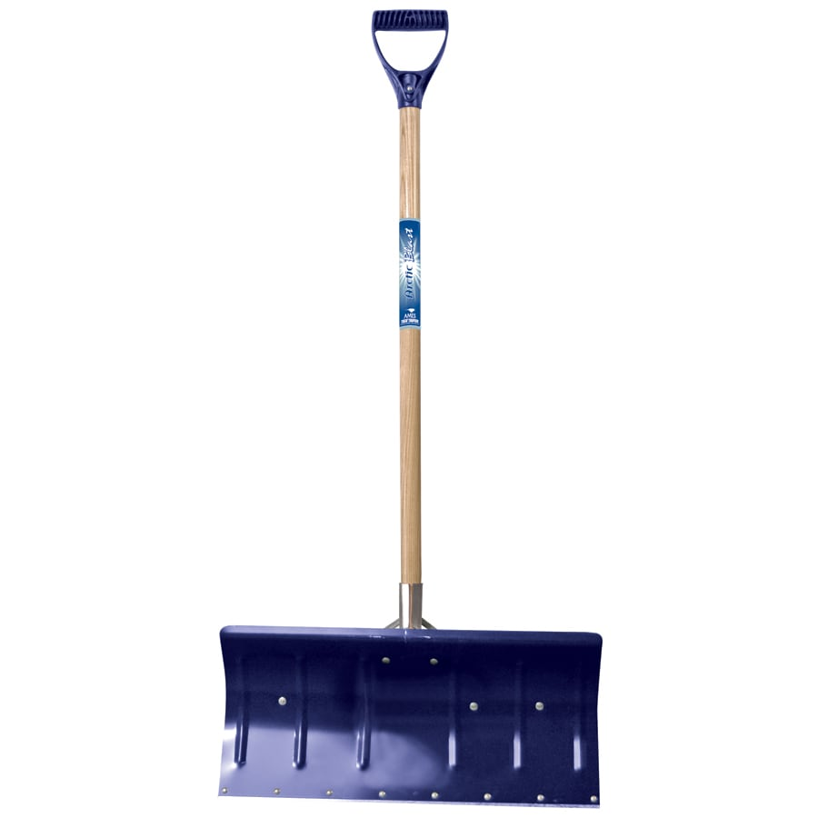 True Temper 24-in Snow Shovel with Wood Handle