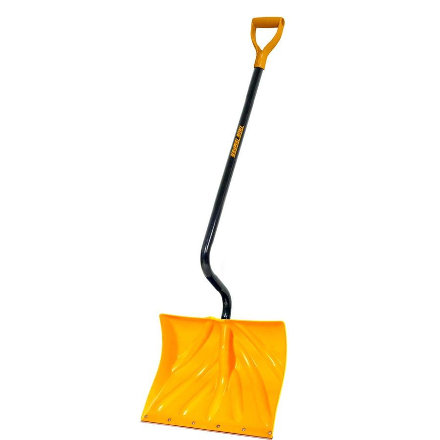 True Temper 18-in Poly Snow Shovel with 38-in Steel Handle
