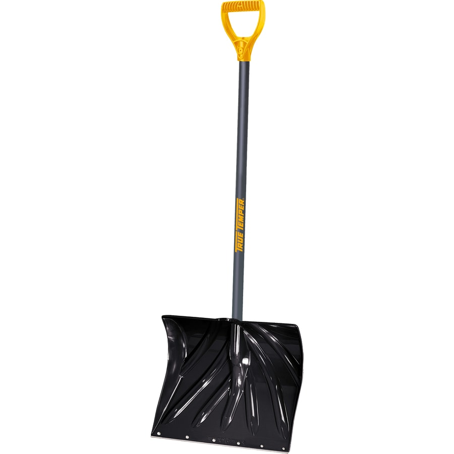 True Temper 18-in Poly Snow Shovel with 36-in Steel Handle