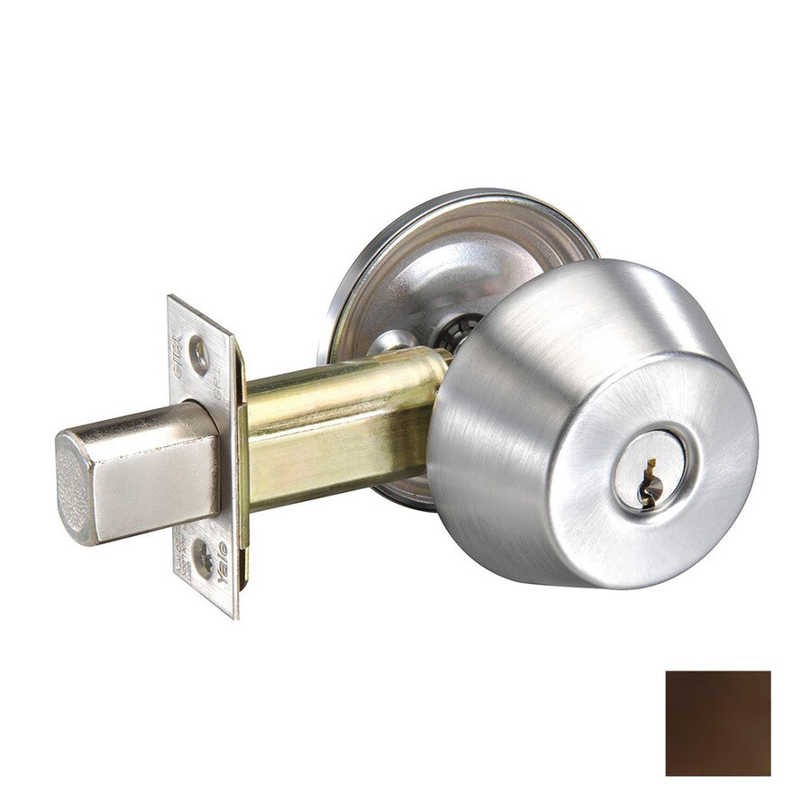 Yale Security D200 Oil-Rubbed Bronze Single-Cylinder Deadbolt