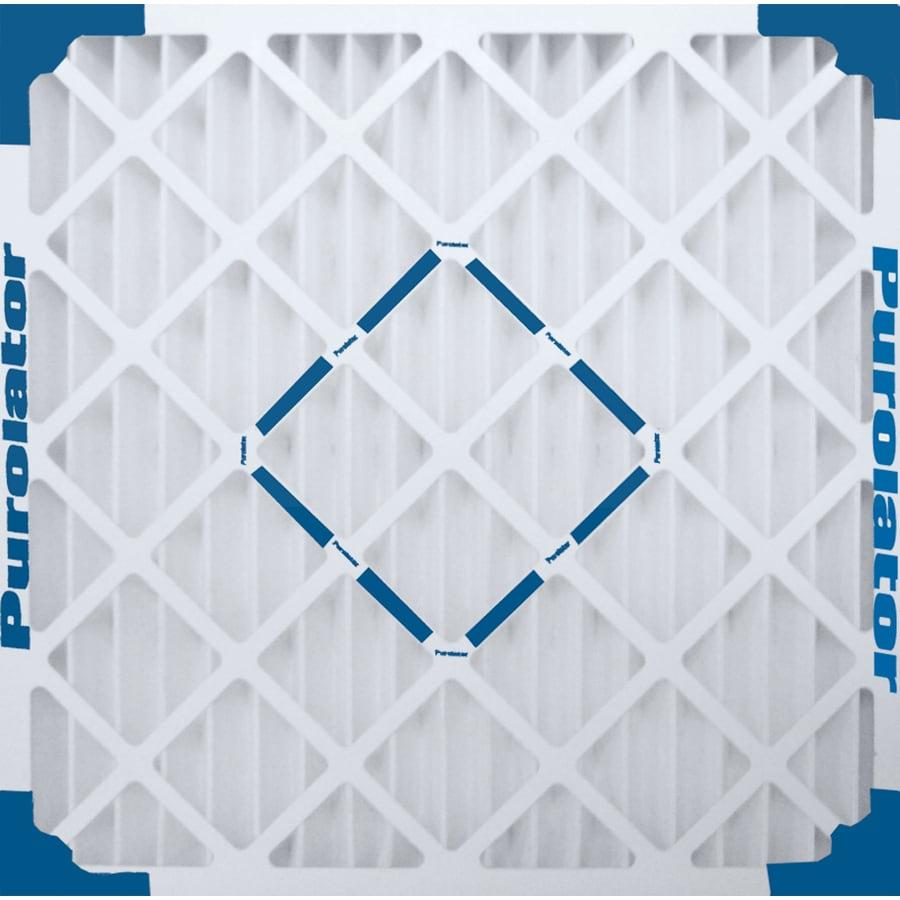 Purolator Hi-E 40 Pleated Air Filter (Common: 16-in x 16-in x 1-in)