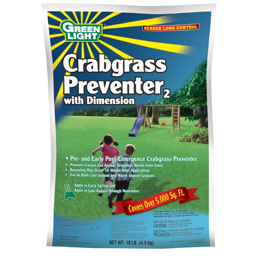 Green Light Crabgrass Preventer with Dimension