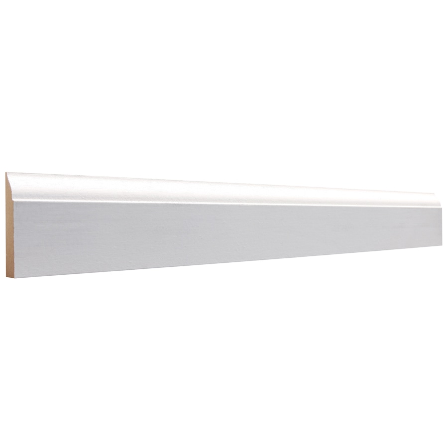 2.25-in x 12-ft Interior MDF Baseboard