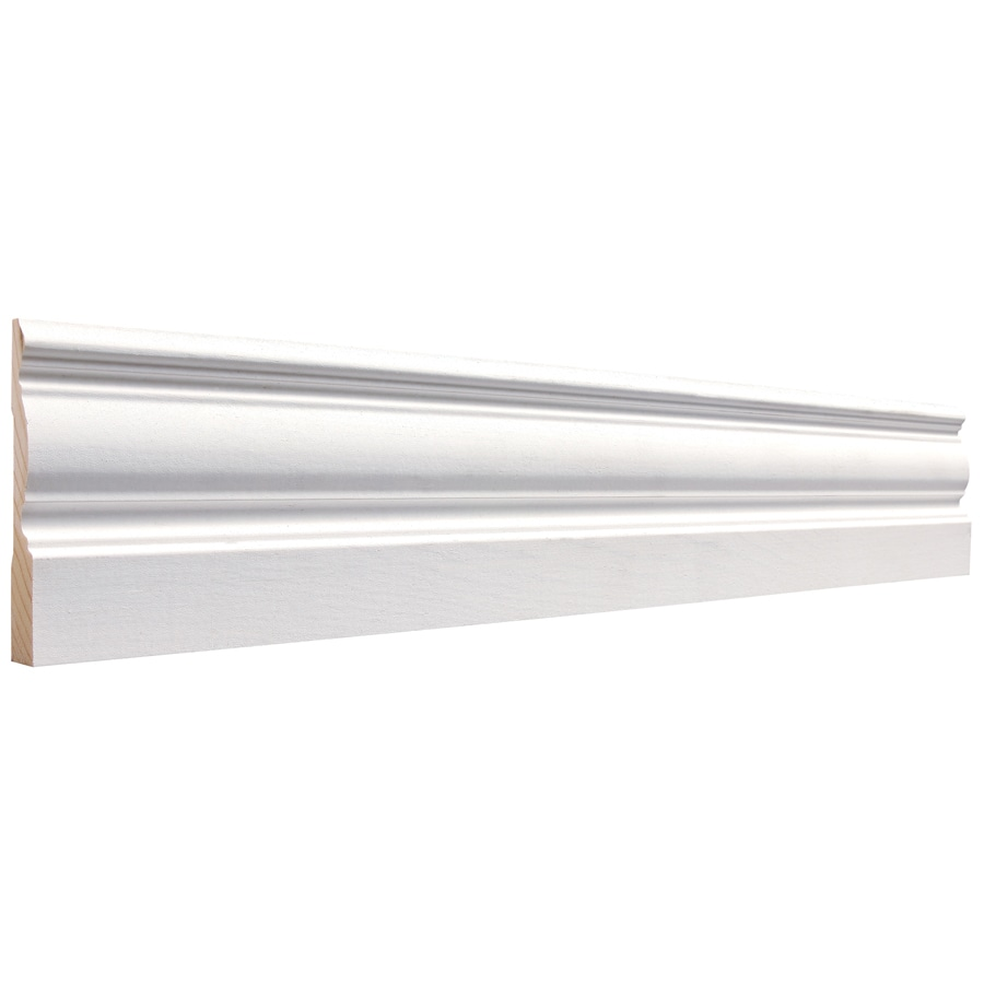 3.25-in x 16-ft Interior Pine Baseboard