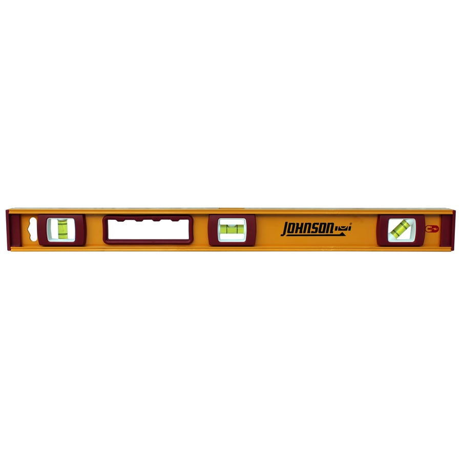 Johnson Level 24-in Magnetic I-Beam Level Standard Level