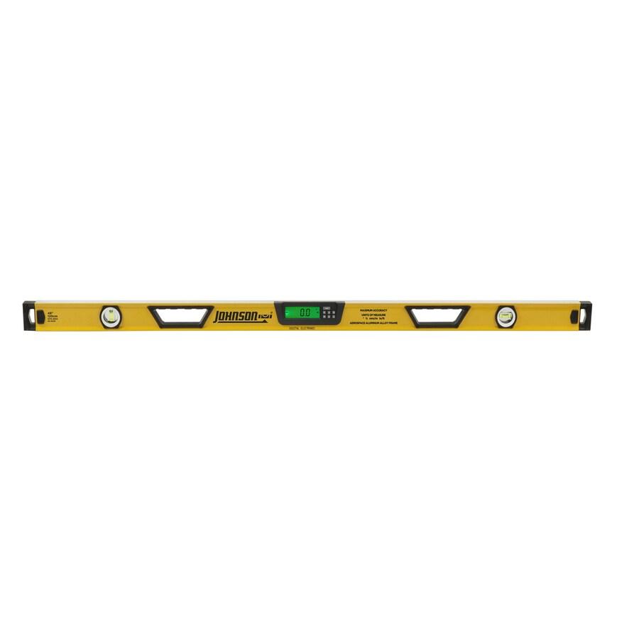 Johnson Level 48-in Digital Display Box Beam Standard Level