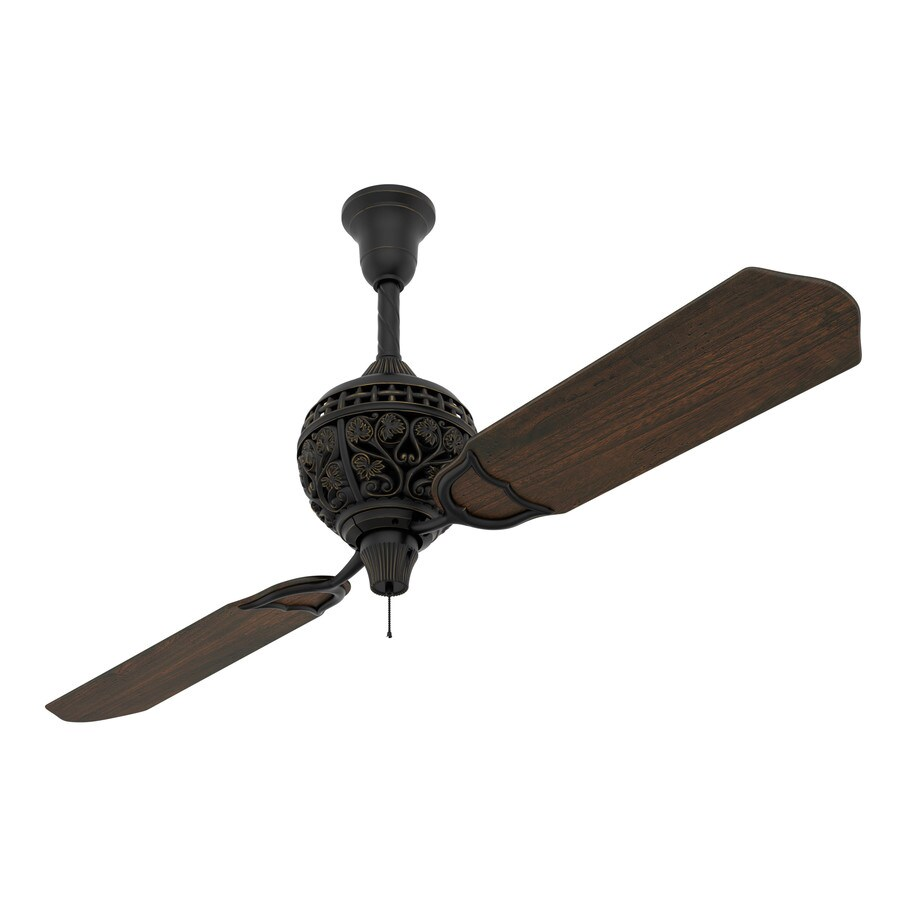 Prestige by Hunter 1886 Limited Edition 60-in Midas Black Downrod Mount Indoor Ceiling Fan (2-Blade)