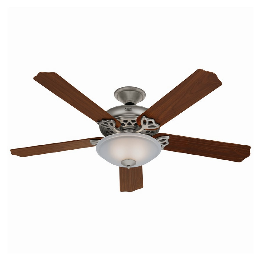 """Hunter 60"""" Grand Lodge Antique Pewter Ceiling Fan"""