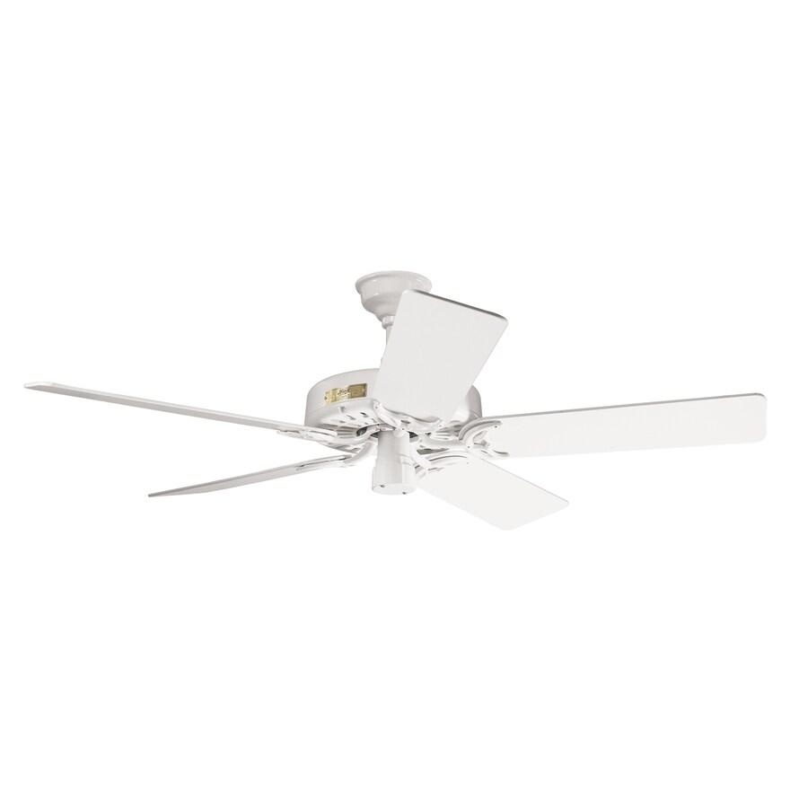 Prestige by Hunter Original 52-in White Downrod Mount Ceiling Fan ENERGY STAR