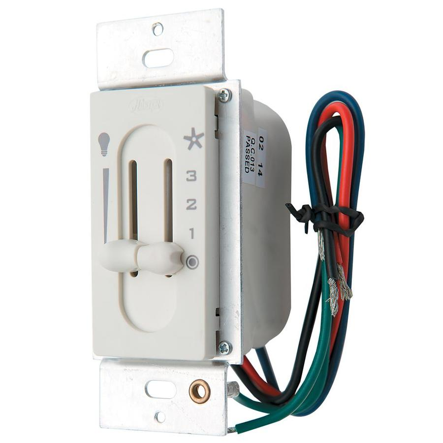 Hunter Slide Combination Dimmer and Fan Control