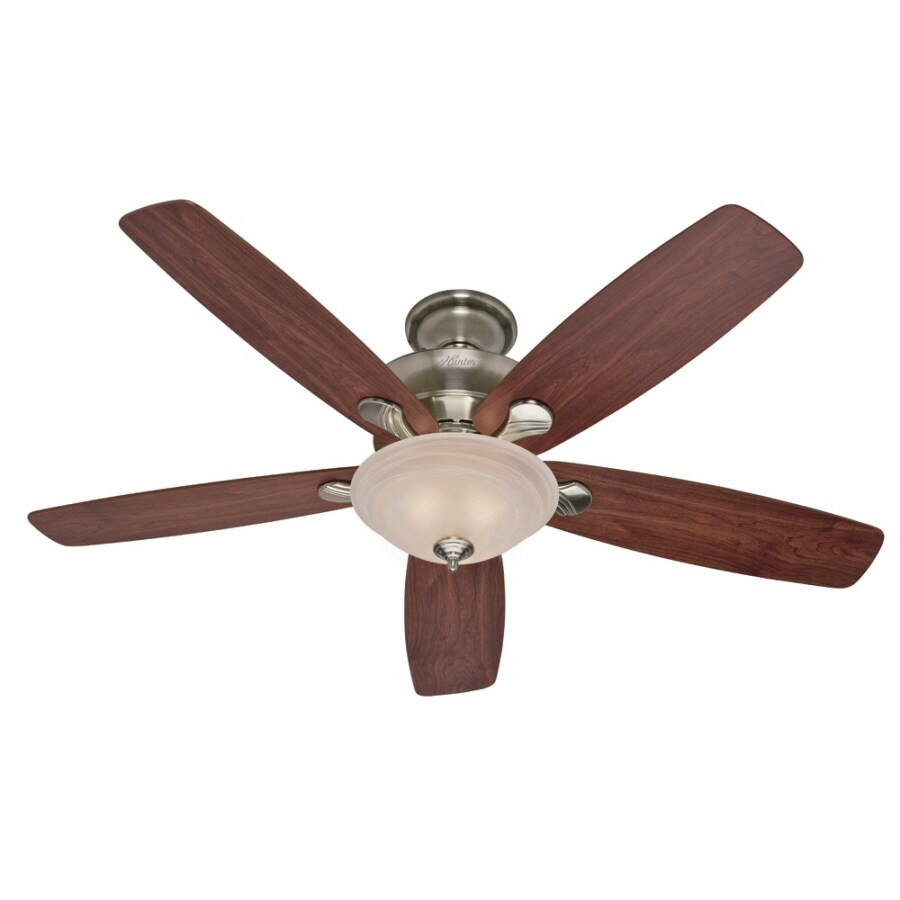 Hunter 60-in Multi-Position Indoor Ceiling Fan with Light Kit