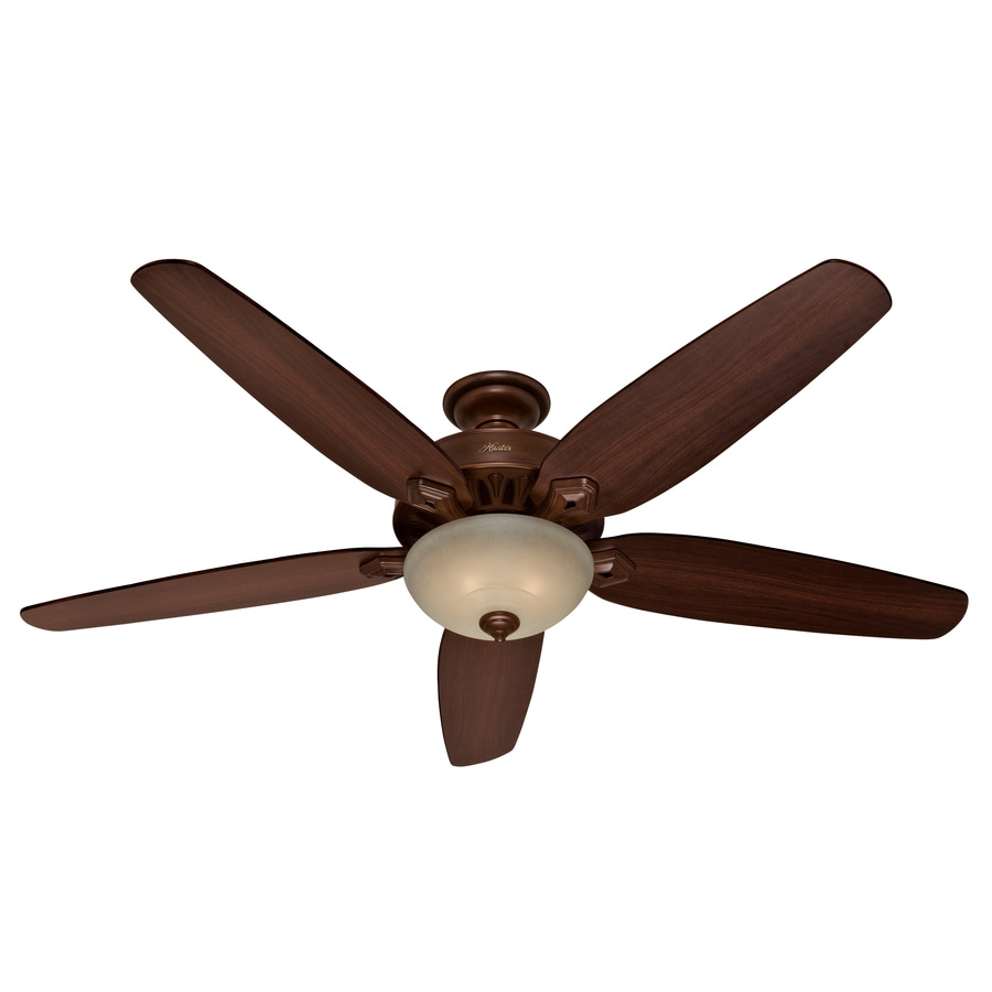 Hunter 70-in Northern Sienna Ceiling Fan with Light Kit