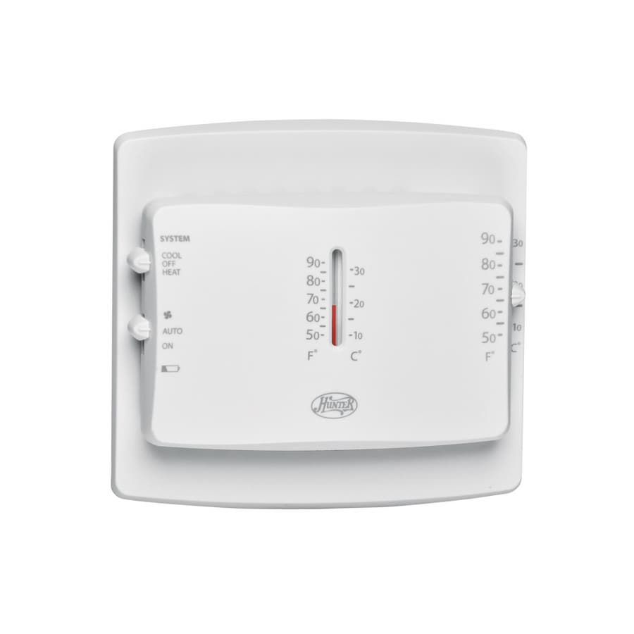 Hunter Mechanical Non-Programmable Thermostat