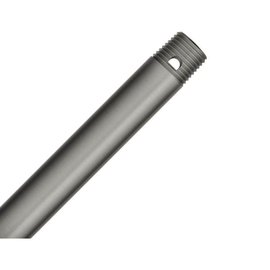 Hunter 12-in Brushed Slate Steel Indoor Ceiling Fan Downrod